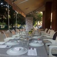 Restaurante con cocina de diseño en Badajoz