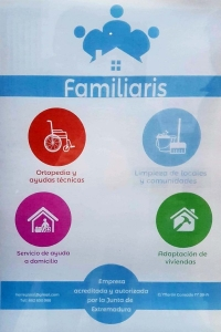 Empresa de ayuda a domicilio en Badajoz, ortopedia, adaptación de viviendas, además de limpieza  y mantenimiento de locales, comunidades y domicilios