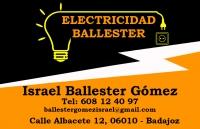 ELECTRICIDAD BALLESTER, Instalaciones eléctricas en Badajoz, Carpintería económica en Badajoz, Instalaciones de fontanería, red y satélite barato en Badajoz, Albañilería económica en Badajoz