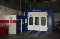 Disponemos de cabina horno de última generación en Badajoz capital
