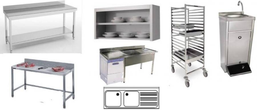 Sergonpec equipamiento de hosteler a en badajoz extremadura maquinaria para hosteler a - Mobiliario de cocina industrial ...