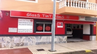 Fachada GT FILMS tintado de lunas en Badajoz