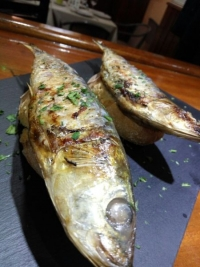 Sardinas asadas, prueba el mejor pescado en nuestro restaurante